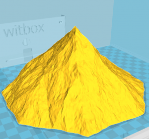 Ein fraktaler Berg